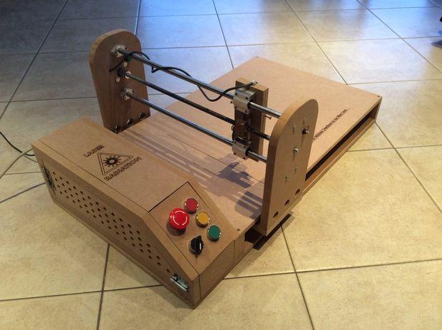 Build Your Own Laser Engraver Lasergrbl